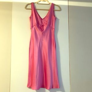Tahari Pink Silk Dress